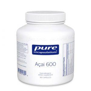 Acai 600 180c by Pure Encapsulations