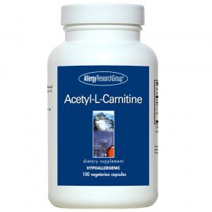 Acetyl L Carnitine 500mg 100 Vcaps By Allergy Research Group