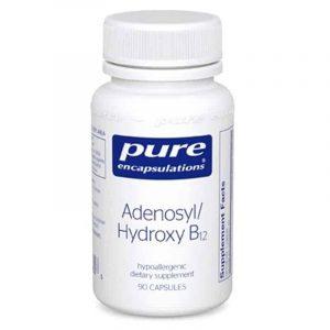 Adenosyl/Hydroxy B12 90c by Pure Encapsulations