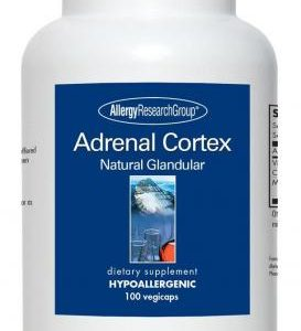 Adrenal Cortex Natural Glandular 100mg 100 Vcaps By Allergy Research Group