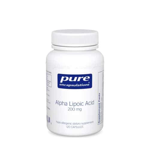 Alpha Lipoic Acid 200mg 120c by Pure Encapsulations
