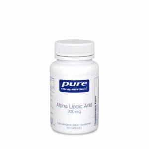 Alpha Lipoic Acid 200mg 60c by Pure Encapsulations