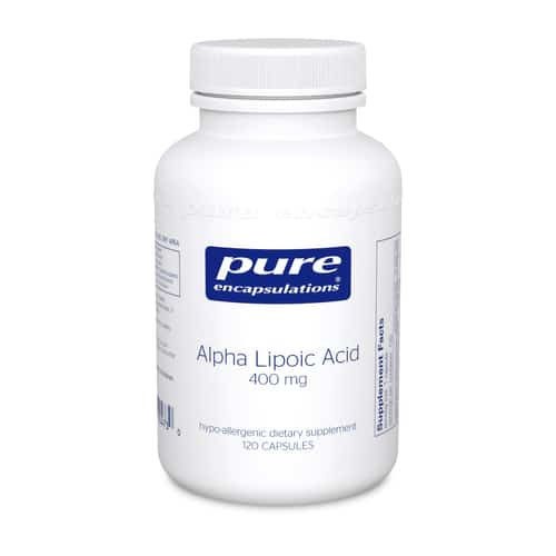 Alpha Lipoic Acid 400mg 120c by Pure Encapsulations