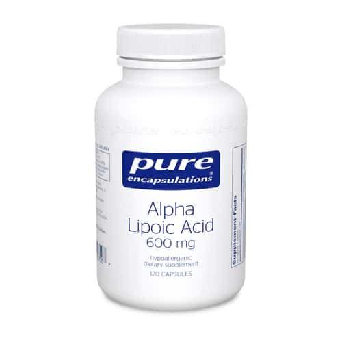 Alpha Lipoic Acid 600mg 120c by Pure Encapsulations