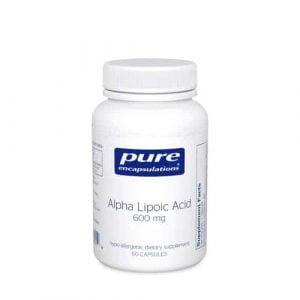 Alpha Lipoic Acid 600mg 60c by Pure Encapsulations