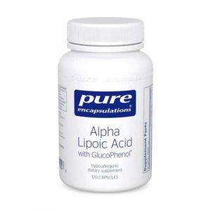 Alpha Lipoic Acid w/GlucoPhenol 120c by Pure Encapsulations