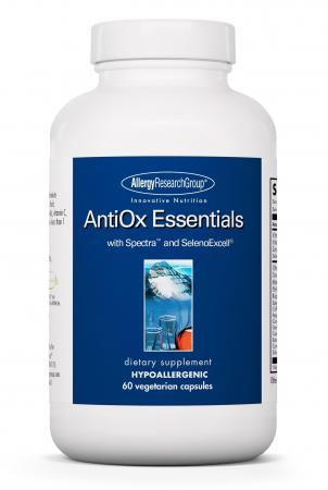 Antiox Essentials 60vcaps By Allergy Research Group