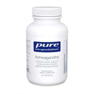 Ashwagandha 120c by Pure Encapsulations