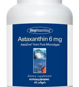 Astaxanthin 6mg 60sgels By Allergy Research Group