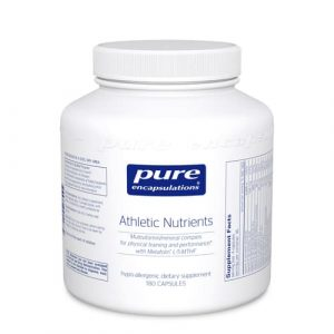 Athletic Nutrients 180c by Pure Encapsulations