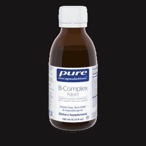 B-Complex Liquid 140ml by Pure Encapsulations