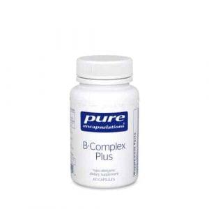 B-Complex Plus 60c by Pure Encapsulations