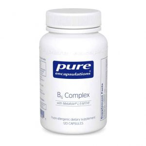 B6 Complex 120 caps by Pure Encapsulations
