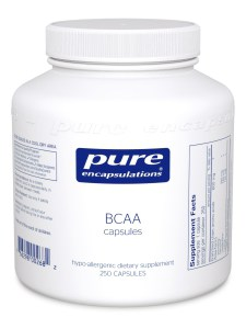 BCAA Capsules 250c by Pure Encapsulations