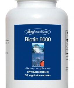 Biotin 5000 60vcaps By Allergy Research Group