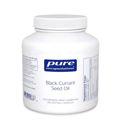Black Currant Seed Oil 250sg by Pure Encapsulations