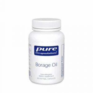 Borage Oil 60sg by Pure Encapsulations