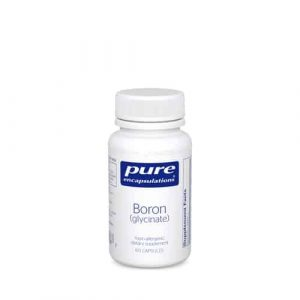 Boron (Glycinate) 60c by Pure Encapsulations