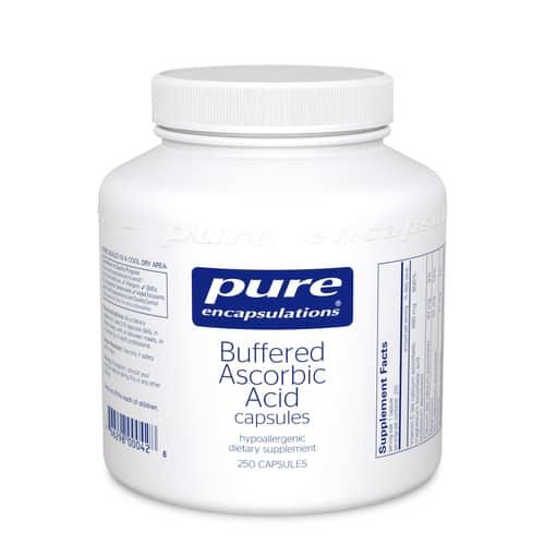 Buffered Ascorbic Acid capsules 250c by Pure Encapsulations