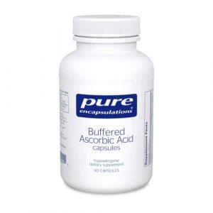 Buffered Ascorbic Acid capsules 90c by Pure Encapsulations