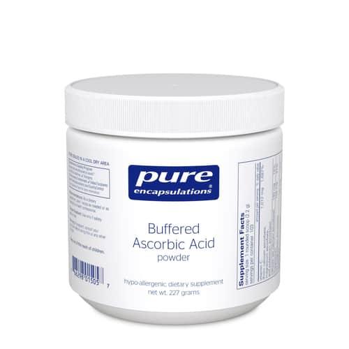 Buffered Ascorbic Acid powder 227g by Pure Encapsulations