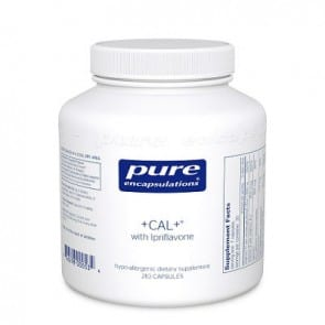 '+ Cal + with Ipriflavone 210c by Pure Encapsulations