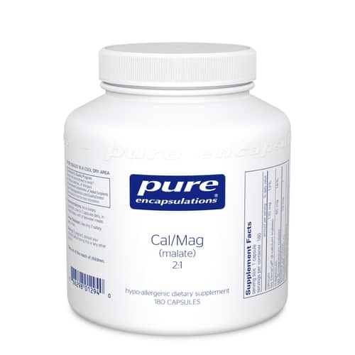 Cal/Mag (malate) 2:1 180c by Pure Encapsulations