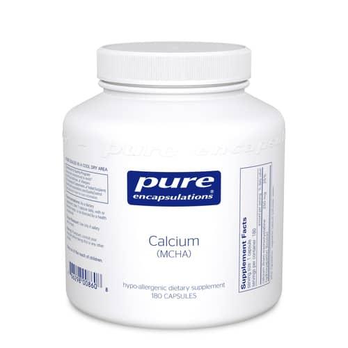 Calcium (MCHA) 180c by Pure Encapsulations