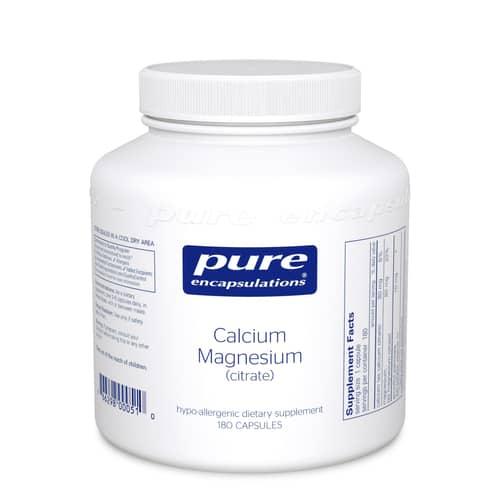 Calcium Magnesium (Citrate) 180c by Pure Encapsulations