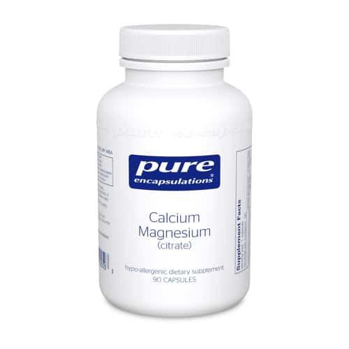 Calcium Magnesium (Citrate) 90c by Pure Encapsulations