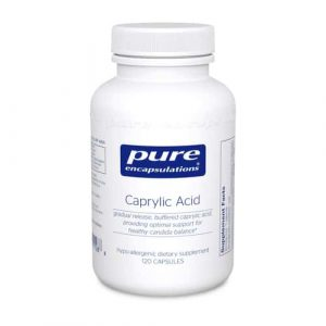 Caprylic Acid 120c by Pure Encapsulations