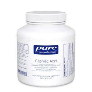 Caprylic Acid 240c by Pure Encapsulations