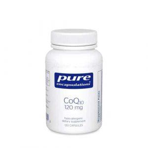 CoQ10 120mg 120c by Pure Encapsulations