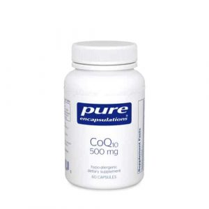 CoQ10 500mg 60c by Pure Encapsulations