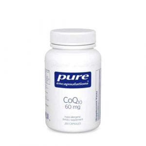 CoQ10 60mg 250c by Pure Encapsulations