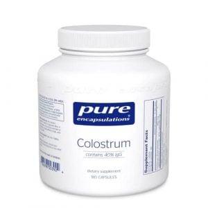 Colostrum [40% IgG] 180c by Pure Encapsulations