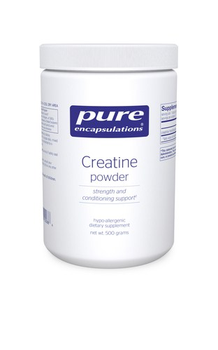 Creatine powder 500g by Pure Encapsulations