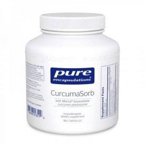 CurcumaSorb (Meriva) 250mg 180c by Pure Encapsulations