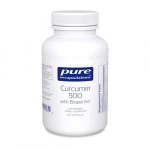Curcumin 500 with Bioperine 120c by Pure Encapsulations