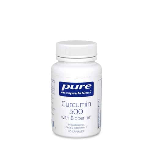 Curcumin 500 with Bioperine 60c by Pure Encapsulations