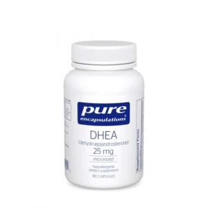 DHEA 25mg 180c by Pure Encapsulations