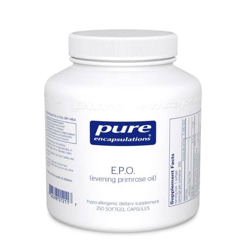 E.P.O. 500 mg 250sg by Pure Encapsulations