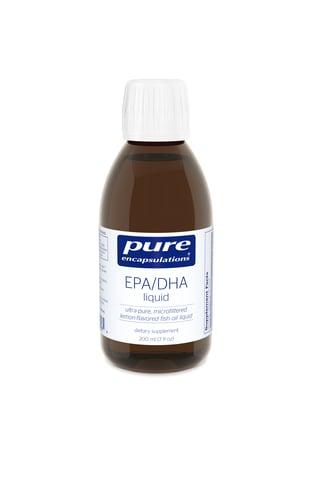 EPA/DHA Liquid (Lemon Flavor) 200ml by Pure Encapsulations