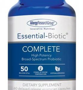 Essential Biotic Complete 60 Vcaps By Allergy Research Group