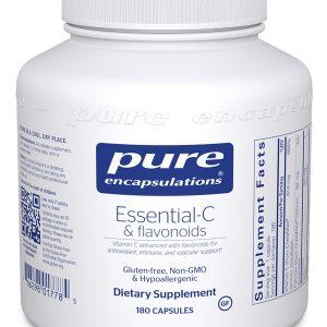 Essential-C & Flavonoids 180 caps by Pure Encapsulations