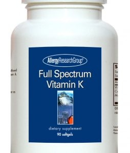 Full Spectrum Vitamin K 90 Sgels By Allergy Research Group