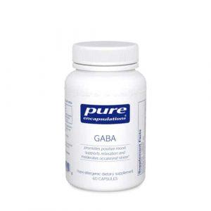GABA (700mg) 60c by Pure Encapsulations