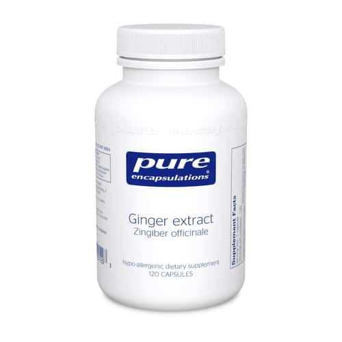 Ginger Extract (Zingiber Officinale) 120c by Pure Encapsulations