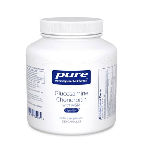Glucosamine Chondroitin with MSM 240c by Pure Encapsulations