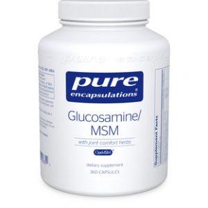 Glucosamine MSM 360c by Pure Encapsulations